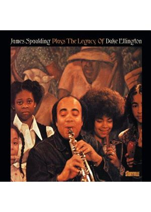 James Spaulding - Plays the Legacy of Duke Ellington (Music CD)