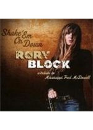 Rory Block - Shake 'm On Down (A Tribute To Mississippi Fred McDowell) (Music CD)