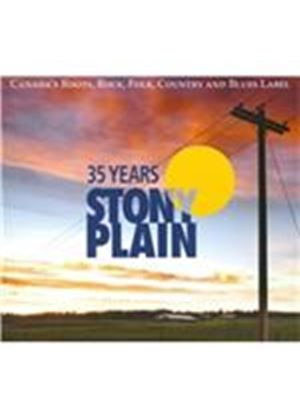 Various Artists - 35 Years of Stony Plain (+3DVD) (Music CD)