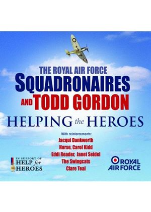 Royal Air Force Squadronaires - Helping The Heroes (Music CD)