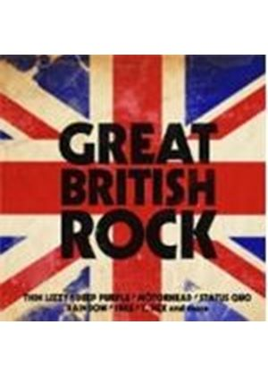 Various Artists - Great British Rock (Music CD)