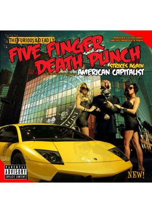 Five Finger Death Punch - American Capitalist (2CD) (Music CD)
