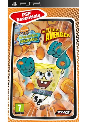 SpongeBob SquarePants - The Yellow Avenger - Essentials (PSP)