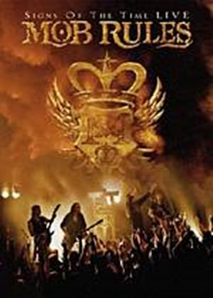 Mob Rules - Signs Of The Time - Live (DVD And CD)