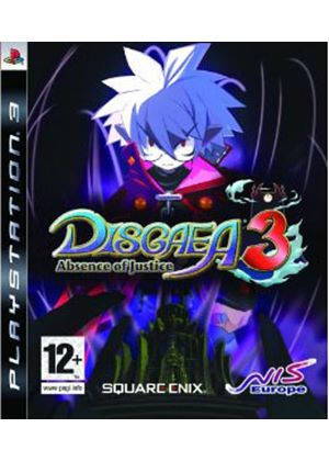 Disgaea 3 - Absence of Justice (PS3)