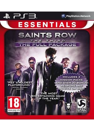 Saints Row The Third: The Full Package - Essentials (PS3)
