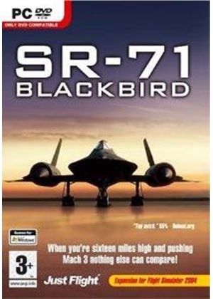 SR-71 Blackbird Add-On for FS 2004 (PC DVD)