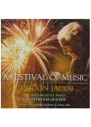 Gordon Jacob - A Festival Of Music (Coldstream Guards) (Music CD)