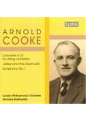 Cooke: Concerto in D for String Orchestra; Symphony No 1