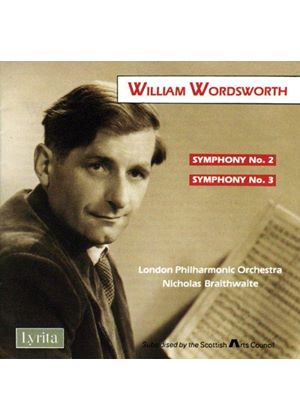 Wordsworth: Symphonies Nos 2 and 3