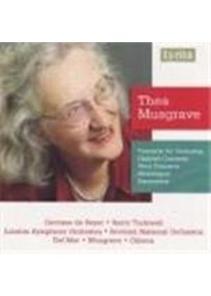 Thea Musgrave - Concerto For Orchestra (Gibson, Del Mar, Musgrave, SNO, LSO) (Music CD)