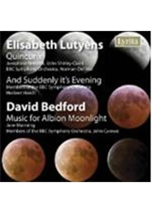 Lutyens/Bedford - Quincunx/Music For Albion Moonlight (Del Mar, BBC SO)