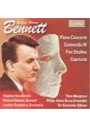 Richard Rodney Bennett - Piano Concerto, Commedia IV (Gibson, LSO, Kovacevich) (Music CD)
