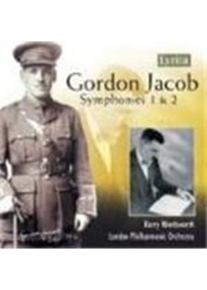 Gordon Jacob - Symphonies Nos. 1 And 2 (Wordsworth, LPO) (Music CD)