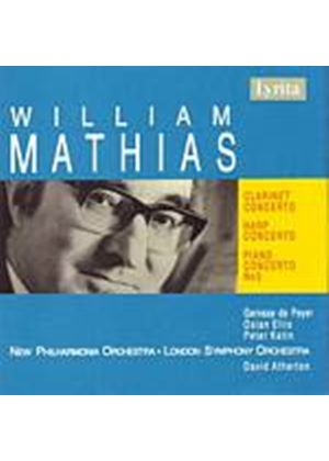 William Mathias - Clarinet Concerto, Harp Concerto (Atherton, New PO, LSO) (Music CD)
