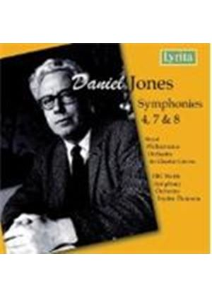 Daniel Jones - Symphonies Nos. 4, 7 And 8 (Groves, RPO) (Music CD)