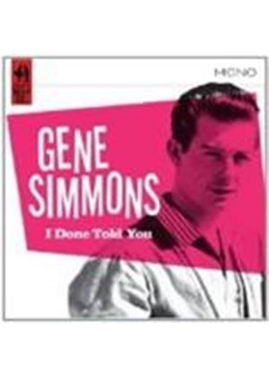 Gene Simmons - I Done Told You (Music CD)