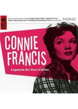 Connie Francis - Lipstick on Your Collar (Music CD)