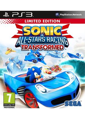 Sonic & All-Stars Racing Transformed Limited Edition (PS3)