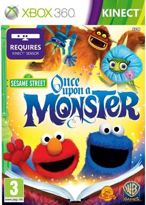 Sesame Street - Once Upon a Monster - Kinect (Xbox 360)