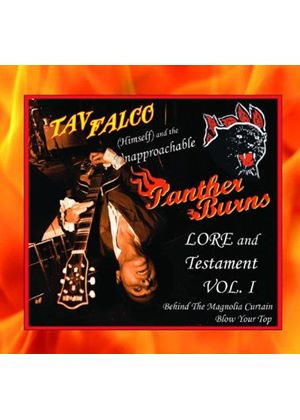 Tav Falco - Behind the Magnolia Curtain/Blow Your Top (Music CD)