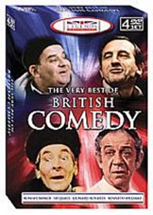 Legends Of British Comedy (Four Discs)