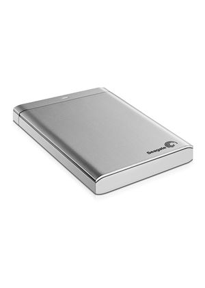 Seagate Backup Plus 2.5 inch (1TB) Hard Drive USB 3.0 External (Silver)