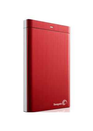 Seagate Backup Plus 2.5 inch (500GB) Hard Drive USB 3.0 External (Red)