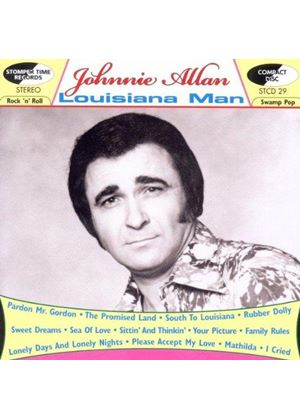 Johnnie Allan - Louisiana Man (Music CD)