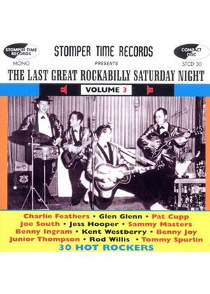 Various Artists - The Last Great Rockabilly Saturday Night, Vol. 3 (Music CD)