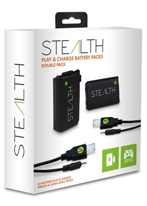 Stealth Xbox 360 Play & Charge Battery Pack - Double Pack SX702