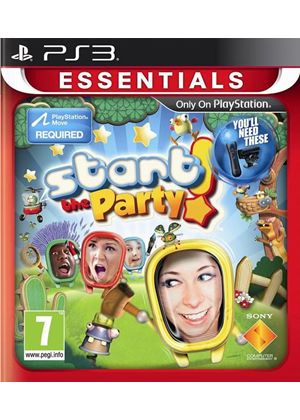Start The Party! - Move (Essentials) (PS3)
