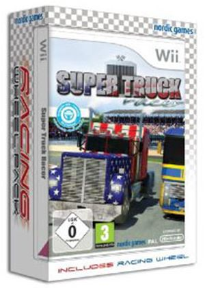 Super Truck Racer Bundle with Racing Wheel (Wii)