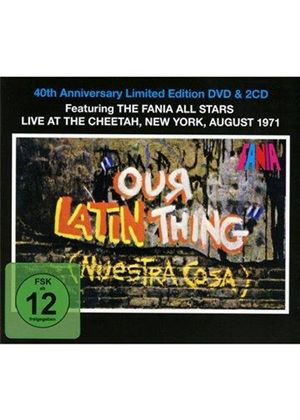 Fania All-Stars - Our Latin Thing (Nuestra Cosa) (Live Recording/Original Soundtrack/+3DVD) (Music CD)