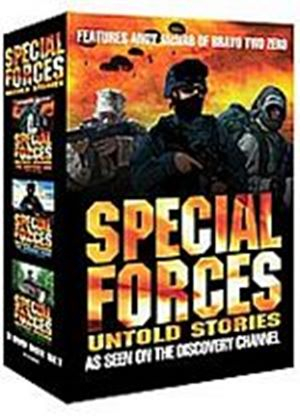 Special Forces - Untold Stories (Three Discs) (Box Set)