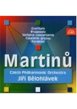 Martinu: Orchestral Works