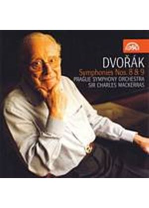 Antonin Dvorak - Symphonies Nos. 8 And 9 (Mackerras) (Music CD)