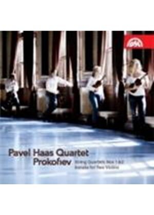 Prokofiev: String Quartets Nos 1-2 (Music CD)