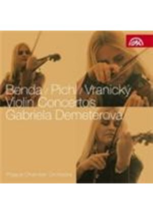 Benda; Pichl; Vranicky: Violin Concertos (Music CD)