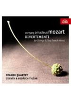 Mozart: Divertimenti for Strings & Two French Horns (Music CD)