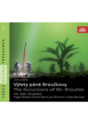 Janácek: (The) Excursions of Mr Broucek (Music CD)