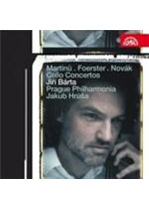 Foerster; Martinu; Novak: Cello Concertos (Music CD)