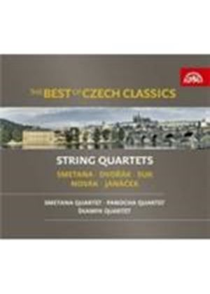 (The) Best Of Czech Classics - String Quartets (Music CD)