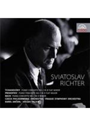 Sviatoslav Richter plays Bach, Prokofiev and Tchaikovsky (Music CD)