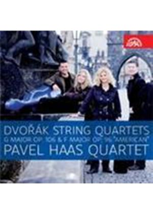 Dvorak: String Quartets Op.106 & 96 'American' (Music CD)
