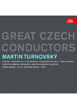 Great Czech Conductors: Martin Turnovský (Music CD)
