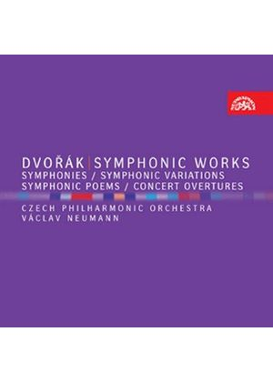 Dvorák: Symphonic Works (Music CD)