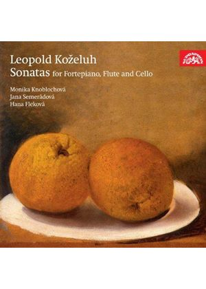 Leopold Kozeluh: Sonatas for fortepiano, flute and cello (Music CD)