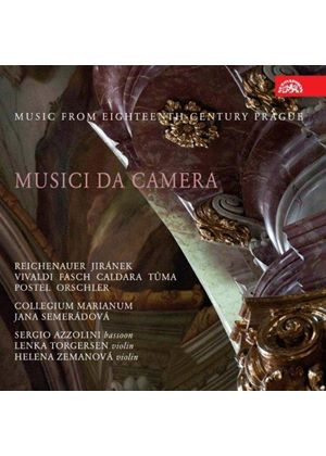 Music from Eighteenth Century Prague: Musica da Camera (Music CD)