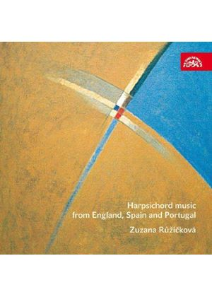 Harpsichord Music from England, Spain and Portugal (Music CD)